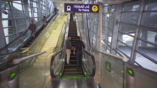 United Arab Emirates, Dubai, metro ride from GGICO to Deira City Centre