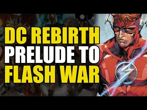 The Flash Rebirth: Flash War Prelude