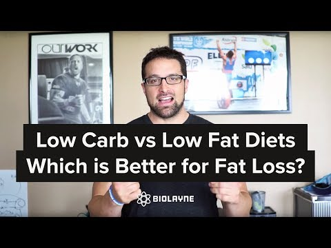 Low Carb Vs Low Fat Diets - Which Is Better For Fat Loss?