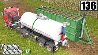 Przygotowania do rozlewania gnojowicy - Farming Simulator 17 (#136)