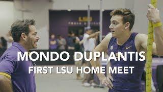 Mondo Duplantis - 5.87m First LSU Home Meet