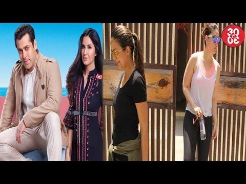 Salman-Katrina To Travel To Abu Dhabi | Kareena Snapped Post Yoga With Bestie Amrita