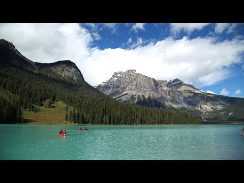 L'origine de la couleur de l'eau du parc national Yoho