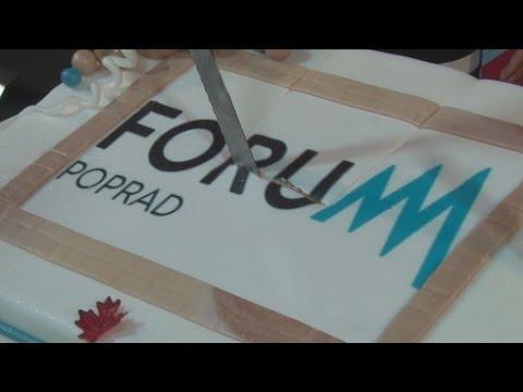 Forum Poprad slávilo 1. narodeniny