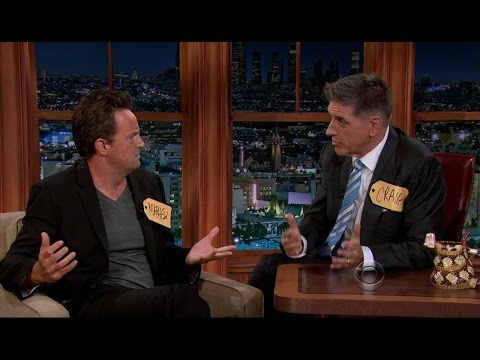 Late Late Show with Craig Ferguson 11/7/2012 Matthew Perry, RZA