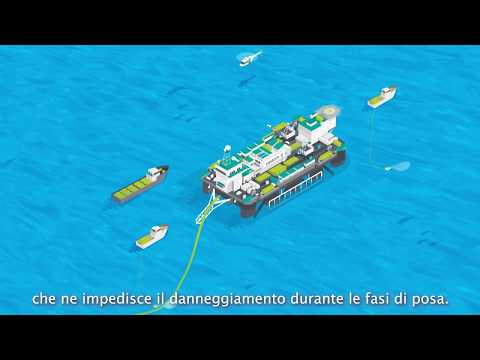 TAP - Fasi di costruzione del tratto offshore