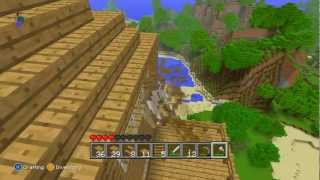 Lets Play: Minecraft Xbox 360 Edition | Part 10: Leather Portal