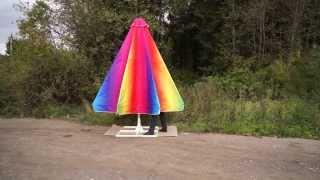 Зонт с полиспастом веревочным для кафе и ресторанов(, 2014-10-14T00:26:06.000Z)
