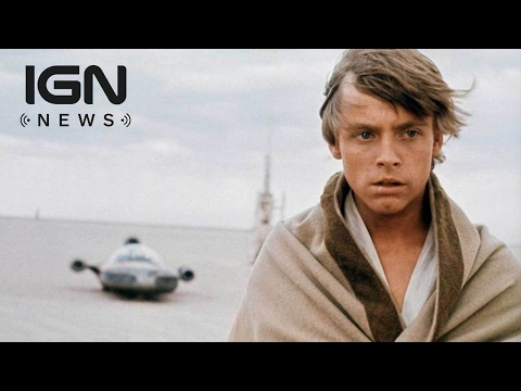 Mark Hamill Shares What May Be First-Ever Photo of Luke Skywalker - IGN News