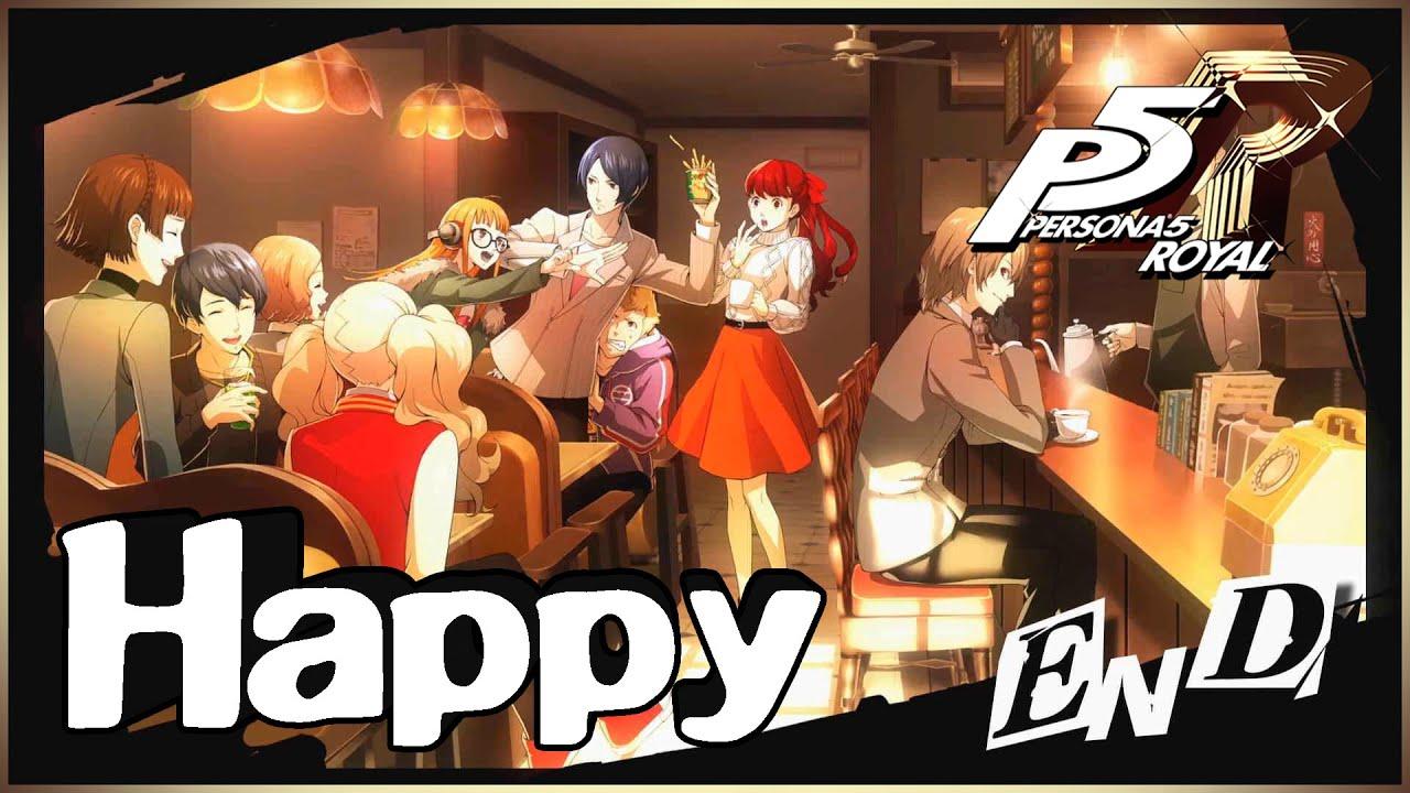 Persona 5 royal : ถ้าหากเราสามารถที่จะอยู่ด้วยกันได้ละ : เนื้อเรื่อง [Happy Ending]
