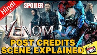 VENOM Post Credit Scene & Easter Eggs [Explained In Hindi]