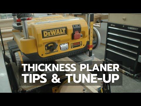 Dewalt 734 Planer Not Feeding