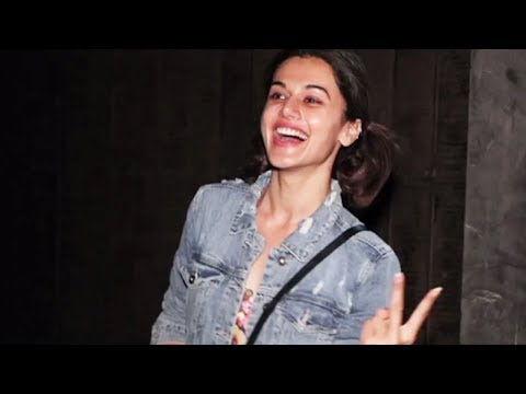 Taapsee Pannu At Super Sunny Studio