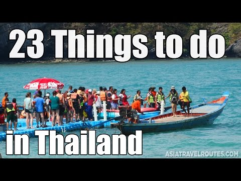 23 Things to do in Thailand