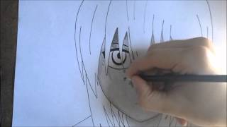 speed drawing lucy nyu elfen lied