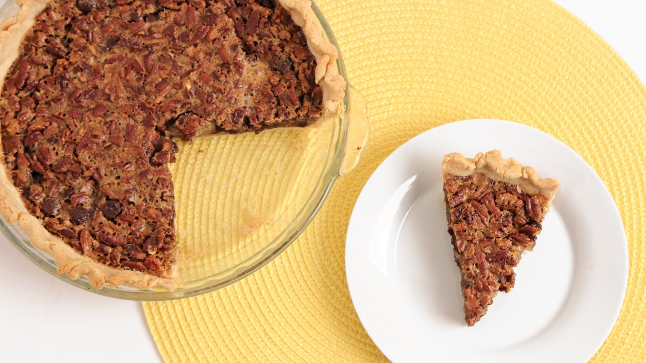 Chocolate Pecan Pie Recipe - Laura Vitale - Laura in the Kitchen Episode 839