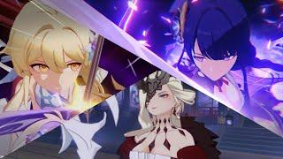 La Signora and Baal (Raiden Shogun) Boss Fight (full run with story) - 2.1 Genshin Impact