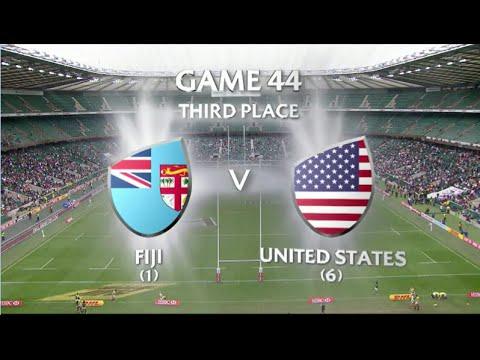 Fiji Vs Usa London 7s 2016 Third Place
