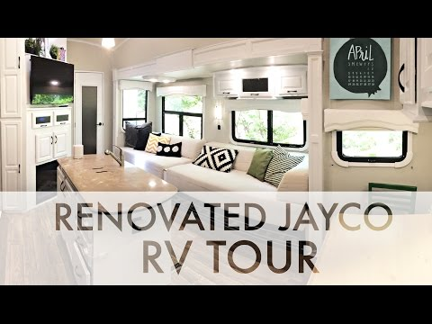 RENOVATED 2015 JAYCO RV TOUR : RV Fulltime w/9 kids
