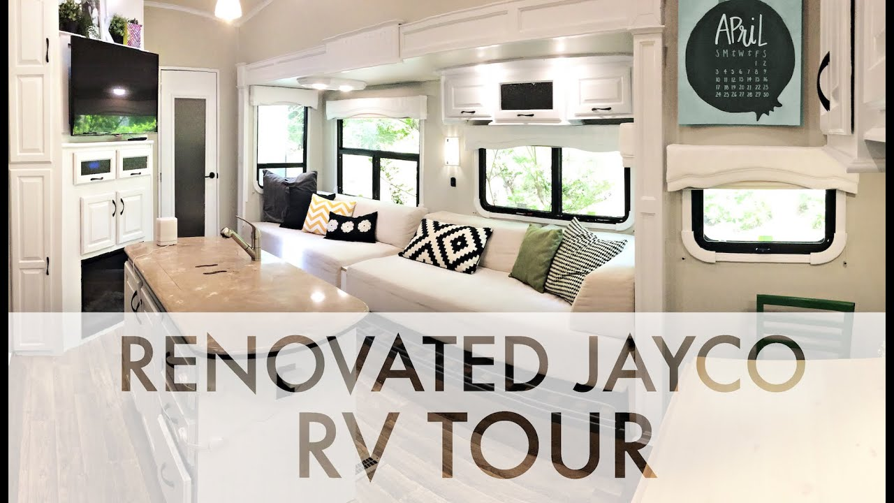 RENOVATED 2015 JAYCO RV TOUR : RV Fulltime w/9 kids