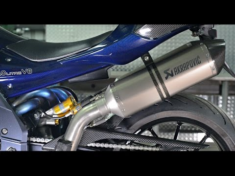 PGM 2L V8 motorcycle - sound teaser - 334hp