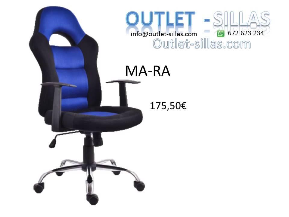 Silla de oficina o para Gamer by Outlet Sillas