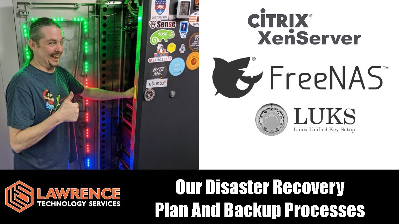 Our Server Backup & Disaster Recovery Processes / Plan with FreeNAS &  XenServer