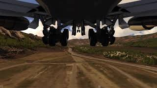 Boeing 747-400 take off Aspen Colorado ++ Aerofly FS 2