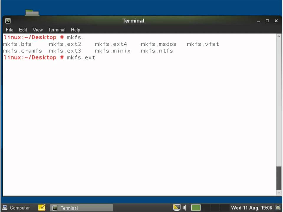 LINUX: Using the mount command with openSUSE 11 3