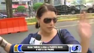 Olga Tañón llega a Puerto Rico