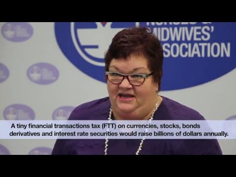 NSWNMA: Judith Kiejda speaks on Robin Hood Tax 1 4 16