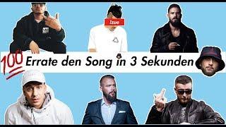 ERRATE DEN SONG IN 3 SEKUNDEN CHALLENGE🔥 [ZU 89,24% UNMÖGLICH] - DEUTSCHRAP EDITION