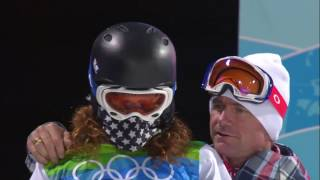 (ENG) Snowboarder Shaun White of the USA!