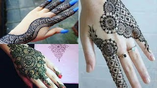 Latest Eid Mehndi Designs For Girls And Womens