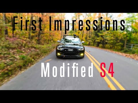 400AWHP B8.5 Audi S4   Review/First Impressions