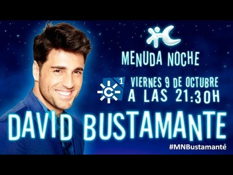 David Bustamante en Menuda Noche 09/10/2015 (Programa Completo)