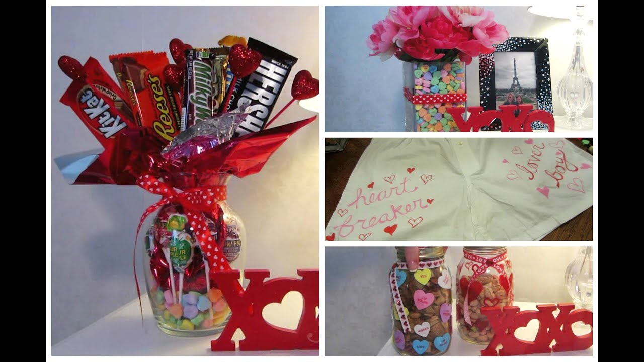 Cute valentine diy gift ideas youtube for Small valentines gifts for him