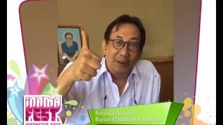 Testimoni Kemala Atmojo untuk INAMAFEST 2016