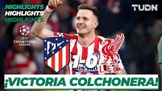 Gambar cover Highlights | Atlético de Madrid 1 - 0 Liverpool | Champions League - 8vos de Final | TUDN