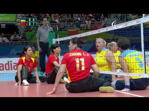 Sitting Volleyball | Ukraine v China | Women's Semi-Final 2 | Rio 2016 Paralympic Games