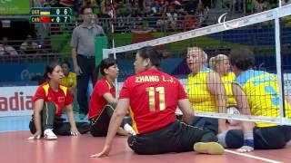 sitting volleyball   ukraine v china   women s semi final 2   rio 2016 paralympic games