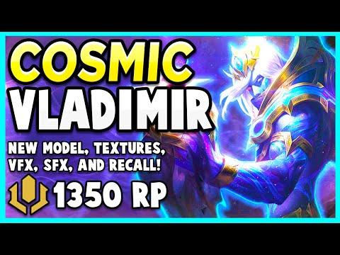 *NEW* COSMIC DEVOURER VLADIMIR SKIN WILL DRAIN THE HEAVENS - League of Legends PBE Gameplay