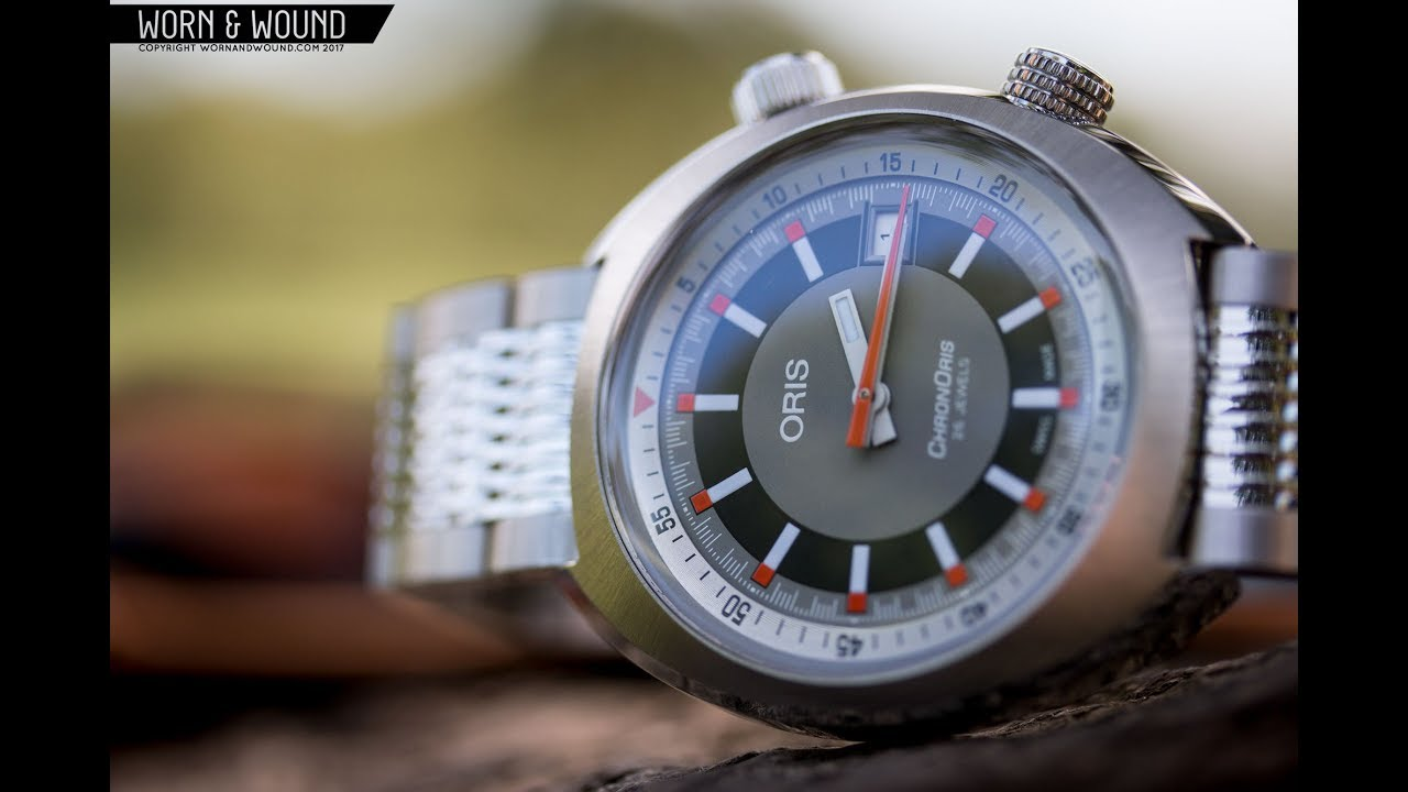 a1f52b0cd Watch Review: The Vintage-Inspired Oris ChronOris Date - YouTube