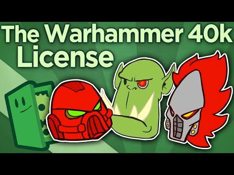 The Warhammer 40k License - A Total Change of Strategy - Extra Credits