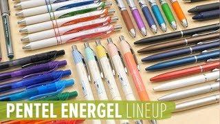 Pentel EnerGel Lineup