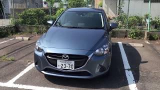 マニュアル車のレンタカー(マツダ デミオDJ型)