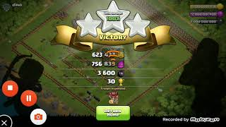 Clash of clans hack.coc hack version attacking .attacking with 817 ballons.clas of clans