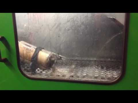 Dpf repair in Hull cleaning a Volvo Dpf
