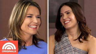 Mandy Moore Talks Wedding And Pick Up Lines | Six Minute Marathon with Savannah | TODAY Originals