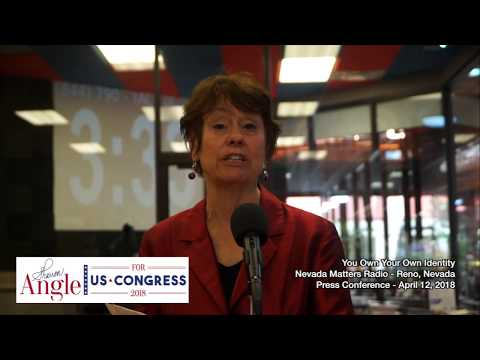 You Own Your Own Identity - Sharron Angle For Congress